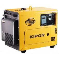 Дизельный генератор с автозапуском 5 кВт Kipor KDE6700TA + Щит АВР