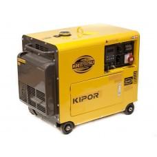 Дизельный генератор с автозапуском 4.8 кВт Kipor KDE6700TA3 + Щит АВР