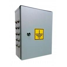 Ящик главной заземляющей шины ГЗШ 21-11-625А (медь 4х40 до 625А Ампер) 11 присоединений-IP31