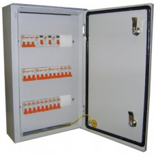 Щит освещения ОП-12 IP31 (Навесной, Ввод: ВН-32 3Р 100А, отходящие: ВА47-29 1Р 6А - 12 шт.)