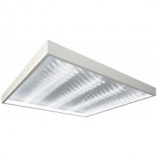 Офисные светодиодные светильники Грильято 50Вт (4800 Лм) Встраиваемый квадратный