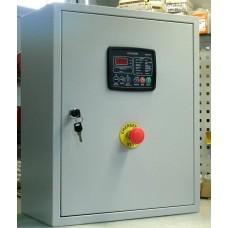 Щит АВР для генератора, автозапуск РЕЗЕРВ-10 ток 10А контроллер DATAKOM DKG-207 автоматы и контакторы Россия-Китай
